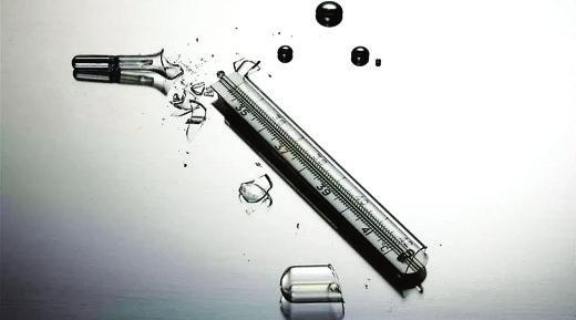 打破了水银温度计怎么办?