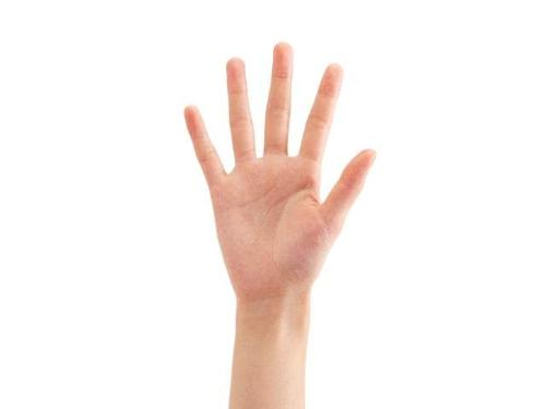 判断身体健康 看看手掌就知道啦