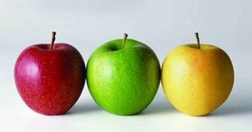 吃苹果常识 3种颜色苹果养生功效不一样